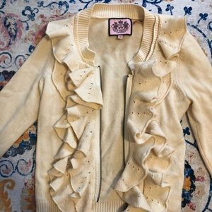 Juicy couture cashmere blend cardigan